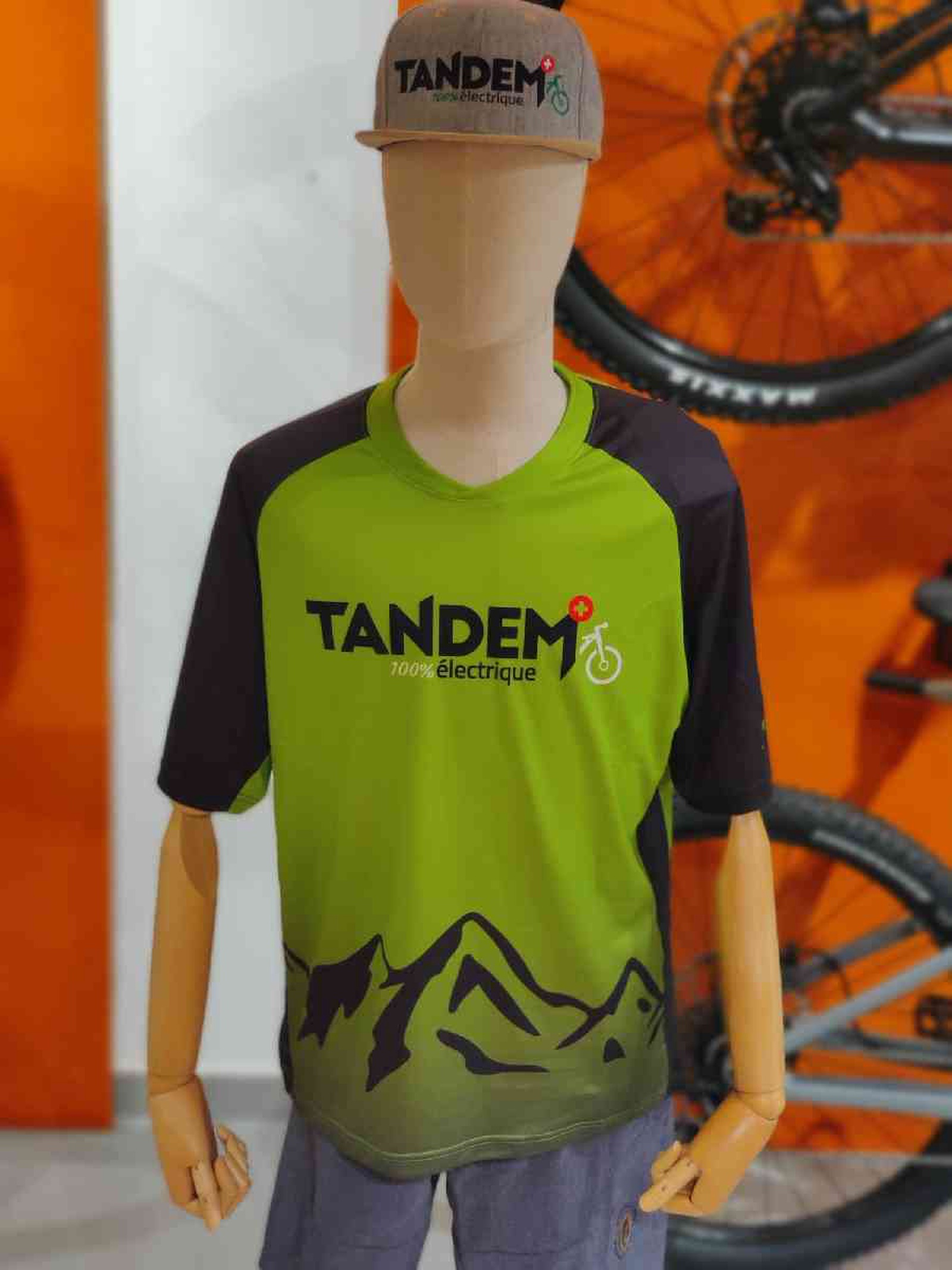 Maillot Tandem courtes manches