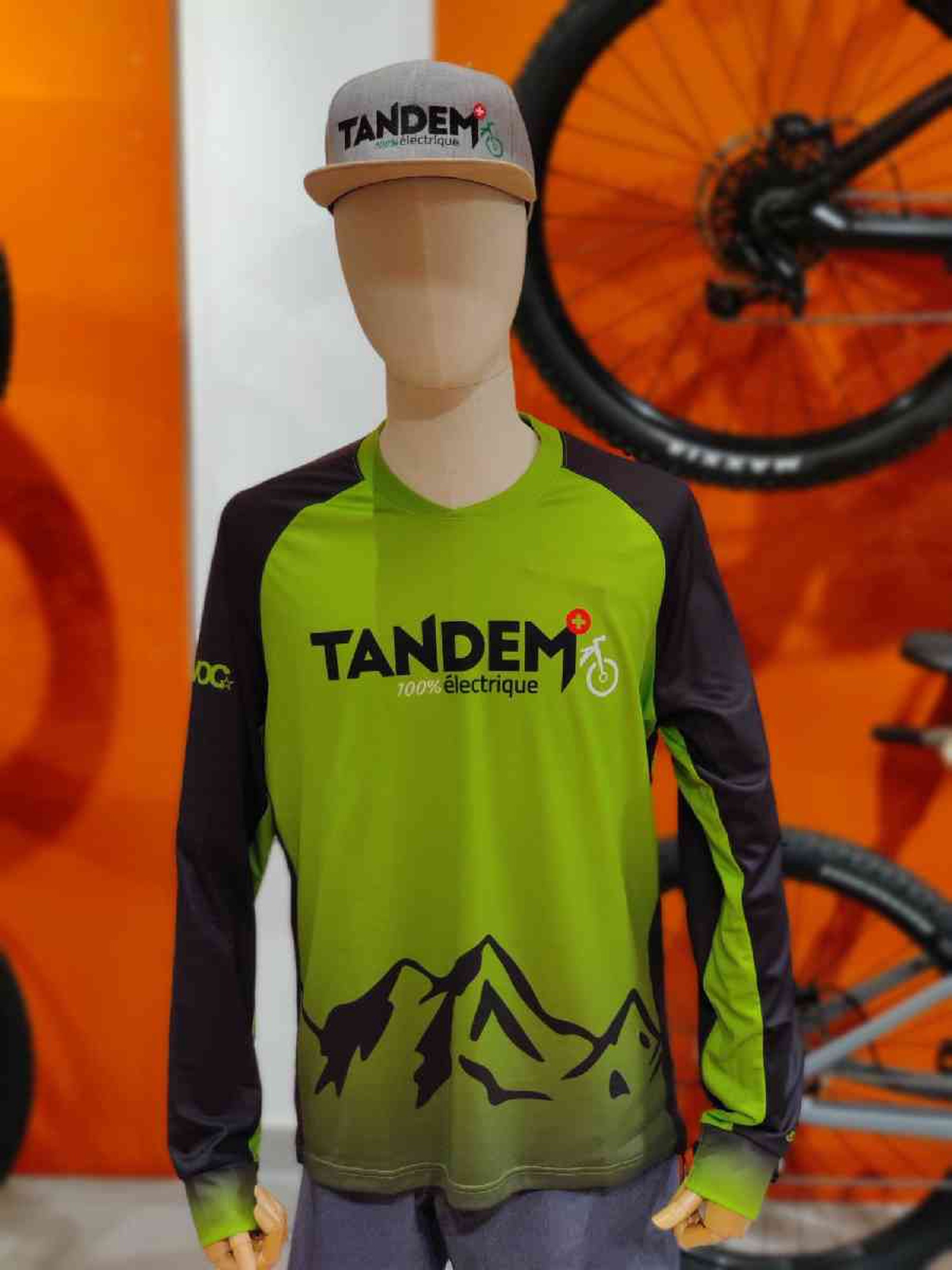 Maillot Tandem longues manches