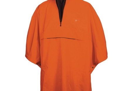 Pèlerine Unisex Grand  orange