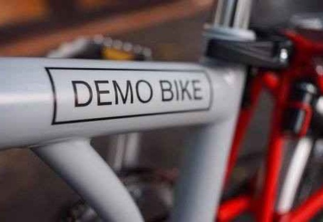 H6R/Grey/Red/HDSHI/Tige Télesc./DEMO BIKE