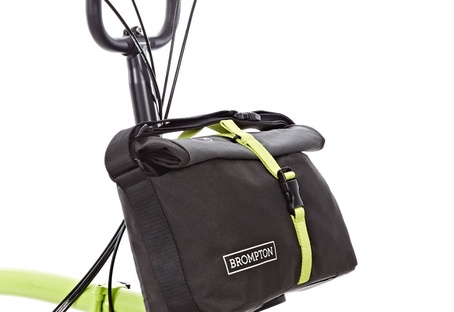 Roll top bag grey black green QRTB-GY